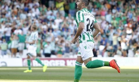 VIDEO: Real Betis 2- 0 Mirandés (Gol de Ruben Castro)
