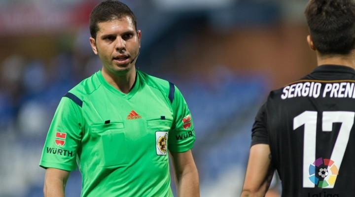 Trujillo  Suarez árbitro para la primera jornada