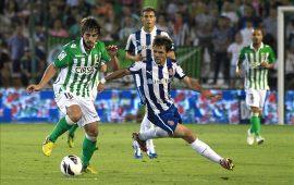 Esta jornada visita el Benito Villamarín el RCD Espanyol