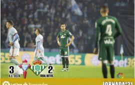 Crónica |RC Celta de Vigo 3 – Real Betis Balompié 2: Sin defensa no hay Europa