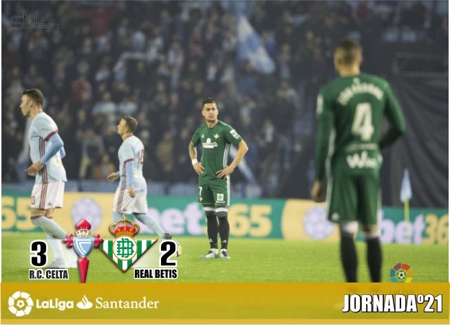Crónica  RC Celta de Vigo 3 – Real Betis Balompié 2: Sin defensa no hay Europa