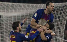Real Betis 0-5 Barcelona: Duro correctivo para los de Setién