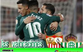 Valoraciones del Sevilla FC 3 – Real Betis Balompié 5