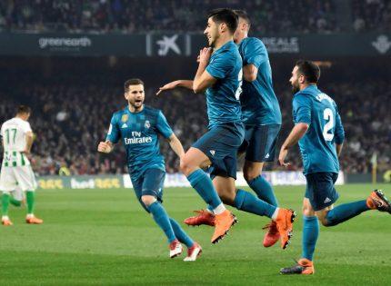 Real Betis 3- Real Madrid 5 : La efectividad madridista supera al juego verdiblanco