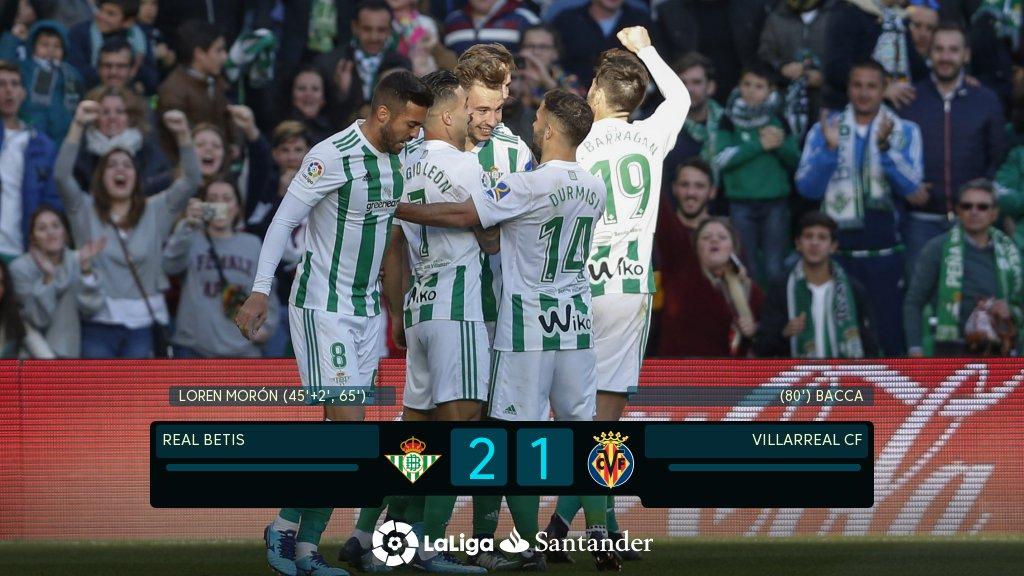 Crónica | Real Betis Balompié 2 – Villarreal CF 1: Una victoria con sabor amargo