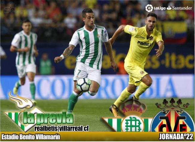 Previa| Real Betis Balompié – Villarreal CF