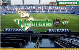 Previa| Levante-Betis: Mejorar el juego para alcanzar Europa