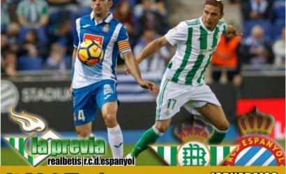 Previa: Real Betis-RCD Espanyol