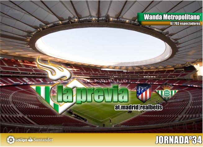 La previa   Atlético de Madrid – Real Betis Balompié: A seguir soñando