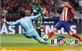 Crónica| Atlético de Madrid 0-0 Real Betis Balompié: Buen punto en un Metropolitano donde fue mejor que su rival