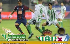Previa: Real Betis Balompié-S.D Eibar: Que el ritmo europeo no pare