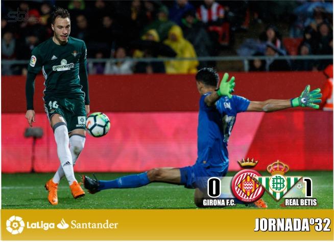 Crónica| Girona CF 0 – 1 Real Betis: La magia de Joaquín en la novena provincia vale una victoria de oro