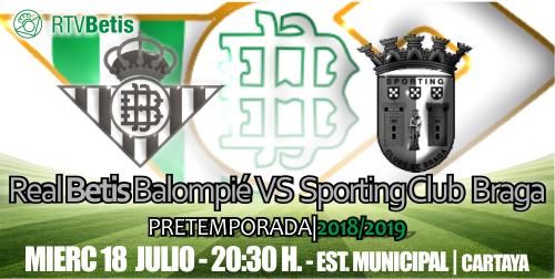 Crónica| Real Betis Balompié 1 – SC Braga 1
