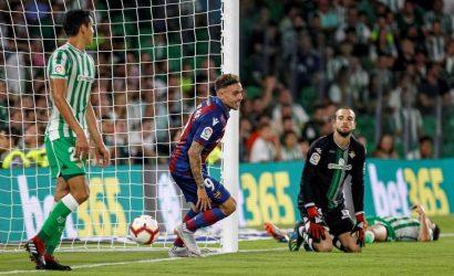 Crónica/ Betis 0-3 Levante: Vaya Palo