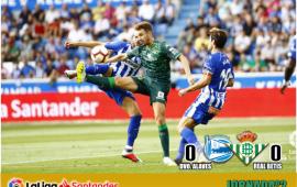 Crónica   Deportivo Alavés 0 – Real Betis Balompié 0: El Betis sigue sin carburar