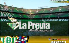 La previa| Real Betis Balompié vs UD Levante