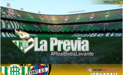 La previa| Real Betis Balompié – UD Levante