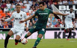 Crónica| Valencia 0-0 Real Betis Balompié: Intensidad con poco resultado