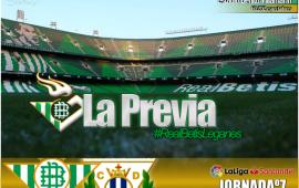 Previa| Real Betis Balompié-CD Leganés: Confirmar la inercia positiva