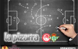 La Pizarra| Olympiacos vs Real Betis Balompié. Fase de grupos, UEL.
