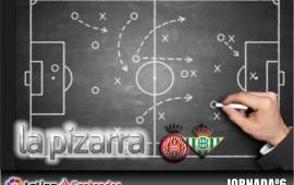 La pizarra| Girona F.C. vs Real Betis. 6ª Jornada. Temp. 18/19