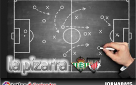 La pizarra| Real Betis vs Athletic de Bilbao. 5ª Jornada. Temp. 18/19
