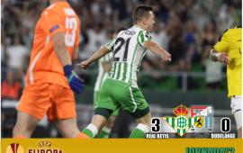 Crónica| Real Betis Balompié 3-F91 Dudelange 0: Primera gran noche en Europa