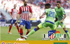 Crónica| Atlético de Madrid 1-Real Betis Balompié 0: Sólo con la posesión no es suficiente