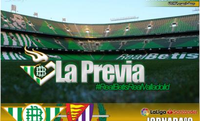 Previa | Real Betis Balompié – Real Valladolid: En busca del gol perdido