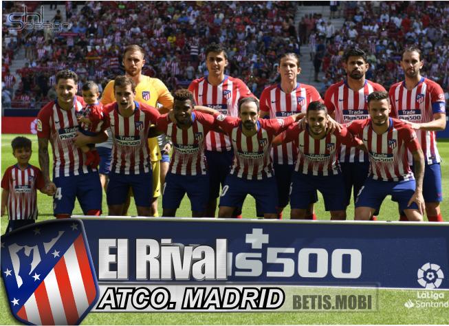 Análisis del rival| Atlético de Madrid