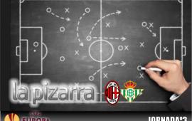 La Pizarra   A.C. Milán vs Real Betis. UEL jornada 3.