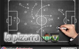 La pizarra | Real Betis vs C.D. Leganés. 7ª Jornada. Temp. 18/19
