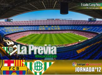 Previa | FC Barcelona – Real Betis Balompie: Puerto de categoria especial