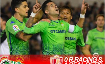 Crónica | Racing de Santander 0 – Real Betis Balompié 1: Victoria sin síntomas de mejoría