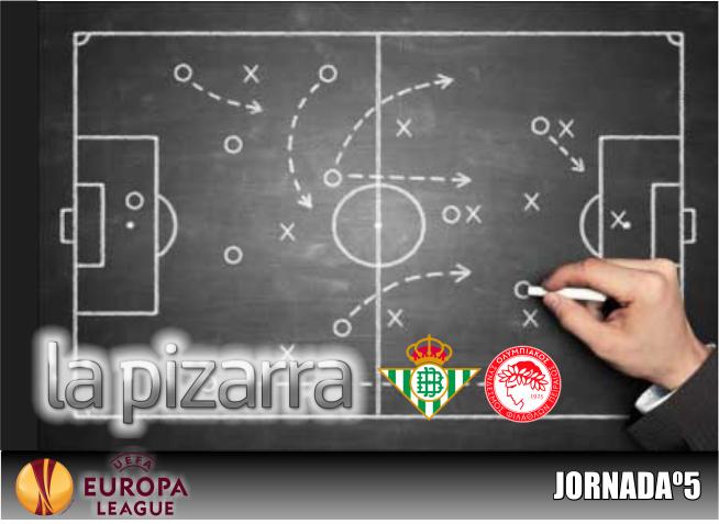 La Pizarra | Real Betis vs Olympiacos. Fase de grupos UEL.