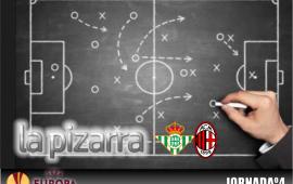 La Pizarra | Real Betis vs A.C. Milán. UEL jornada 4.