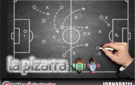 La pizarra | Real Betis vs Celta. Jornada 11. Temp. 18/19