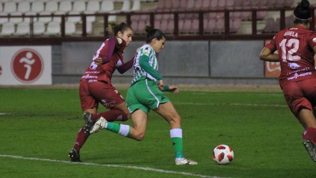 Féminas | E.D.F. Logroño-Real Betis Féminas: El dulce acabó amargando