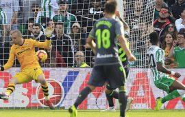 Crónica | Real Betis Balompié 1-Real Sociedad 0: Pau López deja la victoria en el Villamarín
