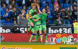 Crónica | RCD Espanyol 1-Real Betis Balompié 3: Pleno en la novena provincia