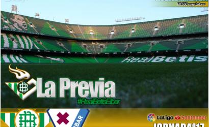 Previa | Real Betis Balompié-SD Éibar: A por la cuarta consecutiva