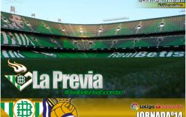 Previa | Real Betis Balompié-Real Sociedad: Que vuelva el Betis de Europa