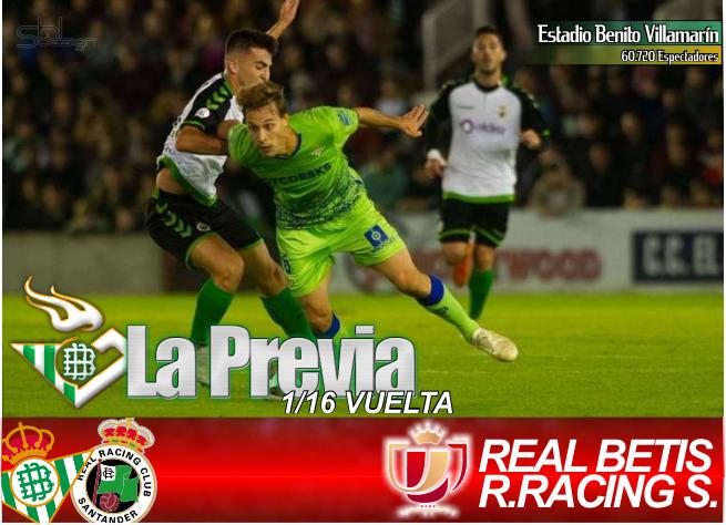 Previa | Real Betis Balompié-Real Club Racing de Santander: Aprender de los errores del pasado