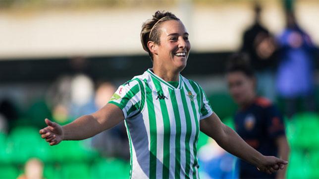 Féminas | El gol en el Betis Féminas se llama Priscila