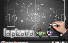 La Pizarra | Real Betis vs Éibar. J17, La Liga 2018/2019