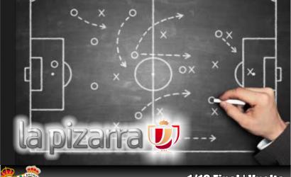 La Pizarra | Real Betis Balompié vs Real Racing Club de Santander. Dieciseisavos vuelta. Copa del Rey. Temp 2018/2019