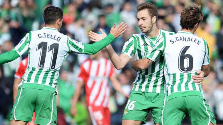 Crónica   Real Betis Balompié 3-Girona FC 2: Victoria in extremis para inaugurar el casillero de 2019