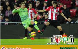 Crónica | Athletic Club de Bilbao 1-Real Betis Balompié 0: Así no se compite en ningún lado