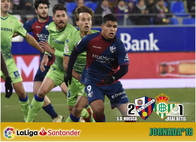 Crónica | SD Huesca 2-Real Betis Balompié: El Betis se disfraza de Rey Mago y regala la victoria al Huesca