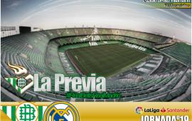Previa | Real Betis Balompié-Real Madrid: No volver a tropezar